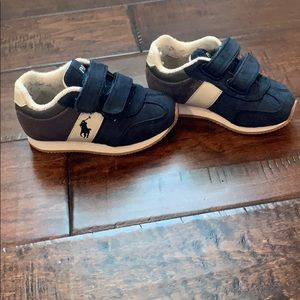 Polo tennis shoes size 5 toddler